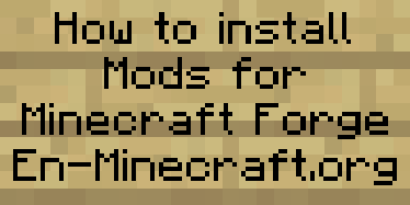 How to install Mods for Minecraft Forge