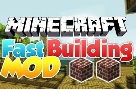 Fast Building for Minecraft 1.8