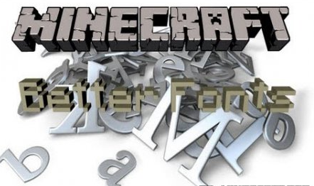 Better Fonts for Minecraft 1.7.2
