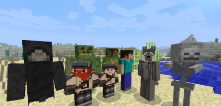 More Player Models for Minecraft 1.7.2