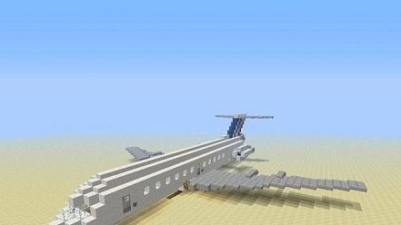 Fokker F100 for Minecraft
