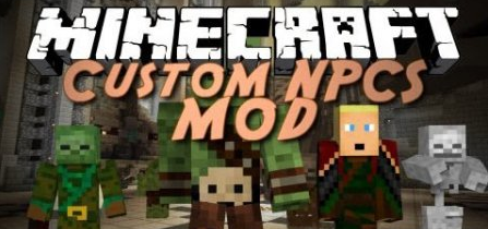 Custom NPCs for Minecraft 1.8