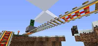 Floatable Rails for Minecraft 1.8