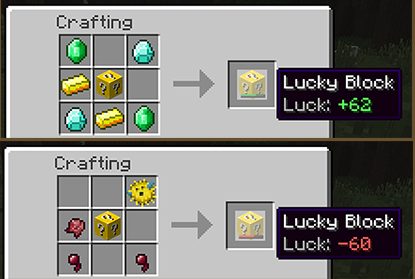 Lucky Block for Minecraft 1.8