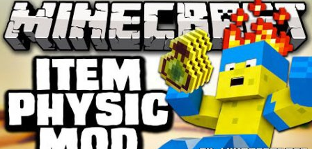 ItemPhysic for Minecraft 1.8