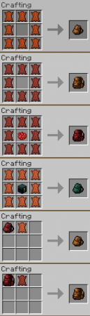 Backpacks for Minecraft 1.8
