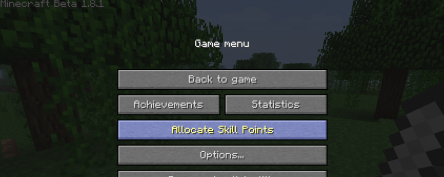 Level Up! for Minecraft 1.8