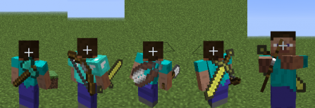 Back Tools for Minecraft 1.8