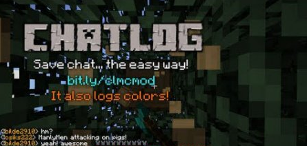 ChatLog Mod for Minecraft 1.7.9
