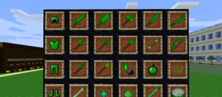 Emerald Mod for Minecraft 1.7.9