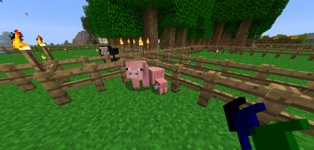 Craftable Animals for Minecraft 1.7.9