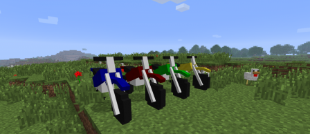 The Dirtbike Mod for Minecraft 1.7.9