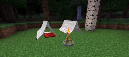 The Camping Mod for Minecraft 1.7.9