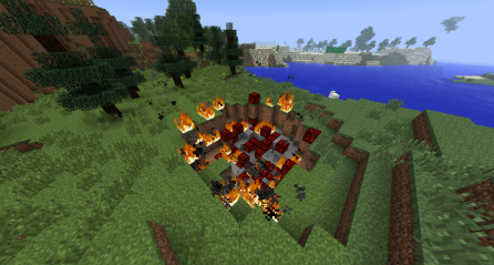 Falling Meteors for Minecraft 1.7.9