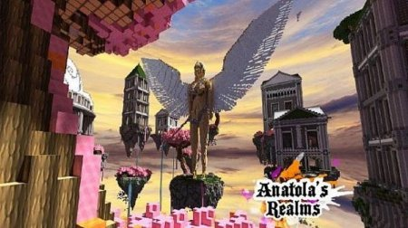 Map Anatola's Realms for Minecraft