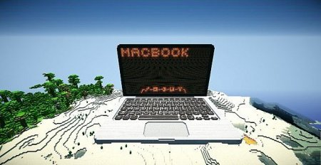 Map Redstone MacBook Pro for Minecraft