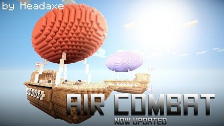 Map Air Combat PVP for Minecraft