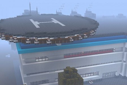 Map Mercy Hospital for Minecraft