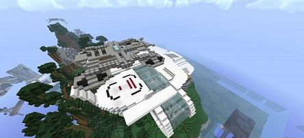 Map Stark Mansion for Minecraft