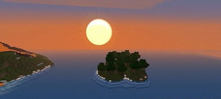 Map of Volcano Mount for Minecraft