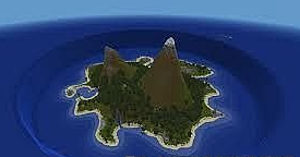 Map The Lonely Island Castaway for Minecraft
