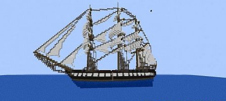 Map USS Constitution for Minecraft