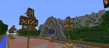 Map Disneyland for Minecraft Remake
