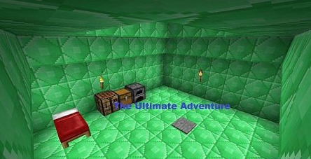 Map The Ultimate Adventure for Minecraft