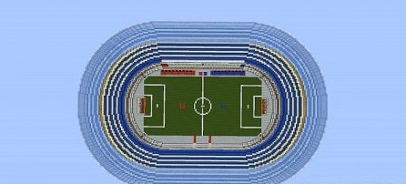 Map Real Soccer in Minecraft for Minecraft