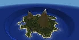 Map Castaway The Lonely Island for Minecraft