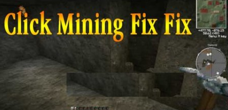 Click Mining Fix Fix Mod for Minecraft 1.7.2