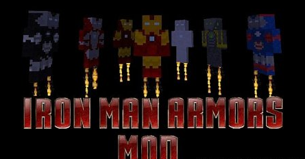 Iron Man Armors for Minecraft 1.7.2