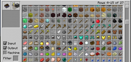 Crafting Guide Mod for Minecraft 1.7.2