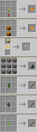 Pam's Simple Recipes Mod for Minecraft 1.7.2