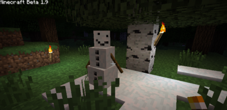 Pumpkin-less Snow Golem for Minecraft 1.7.2