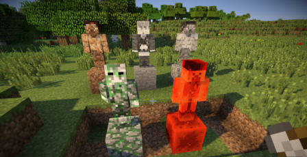 Statues for Minecraft 1.7.2