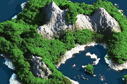 Tropical Island for Minecraft 1.7.5