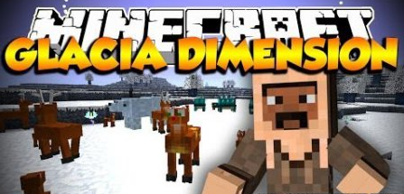 Glacia Dimension for Minecraft 1.7.10